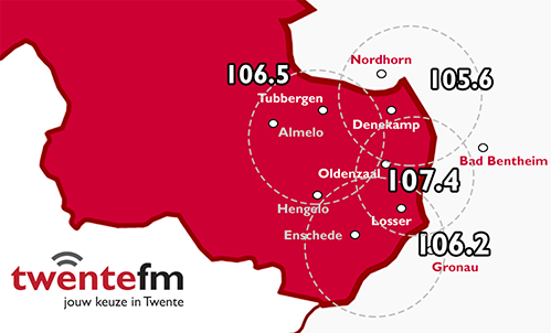 radio fm frequenties nederland